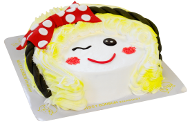 Missy face Cake