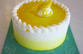 lemon butter cream cake