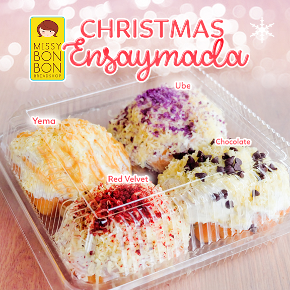 Christmas Ensaymada Social Media